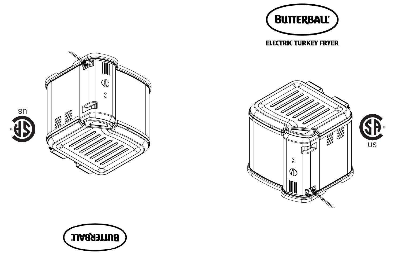 Masterbuilt Butterball Indoor Electric Turkey Fryer