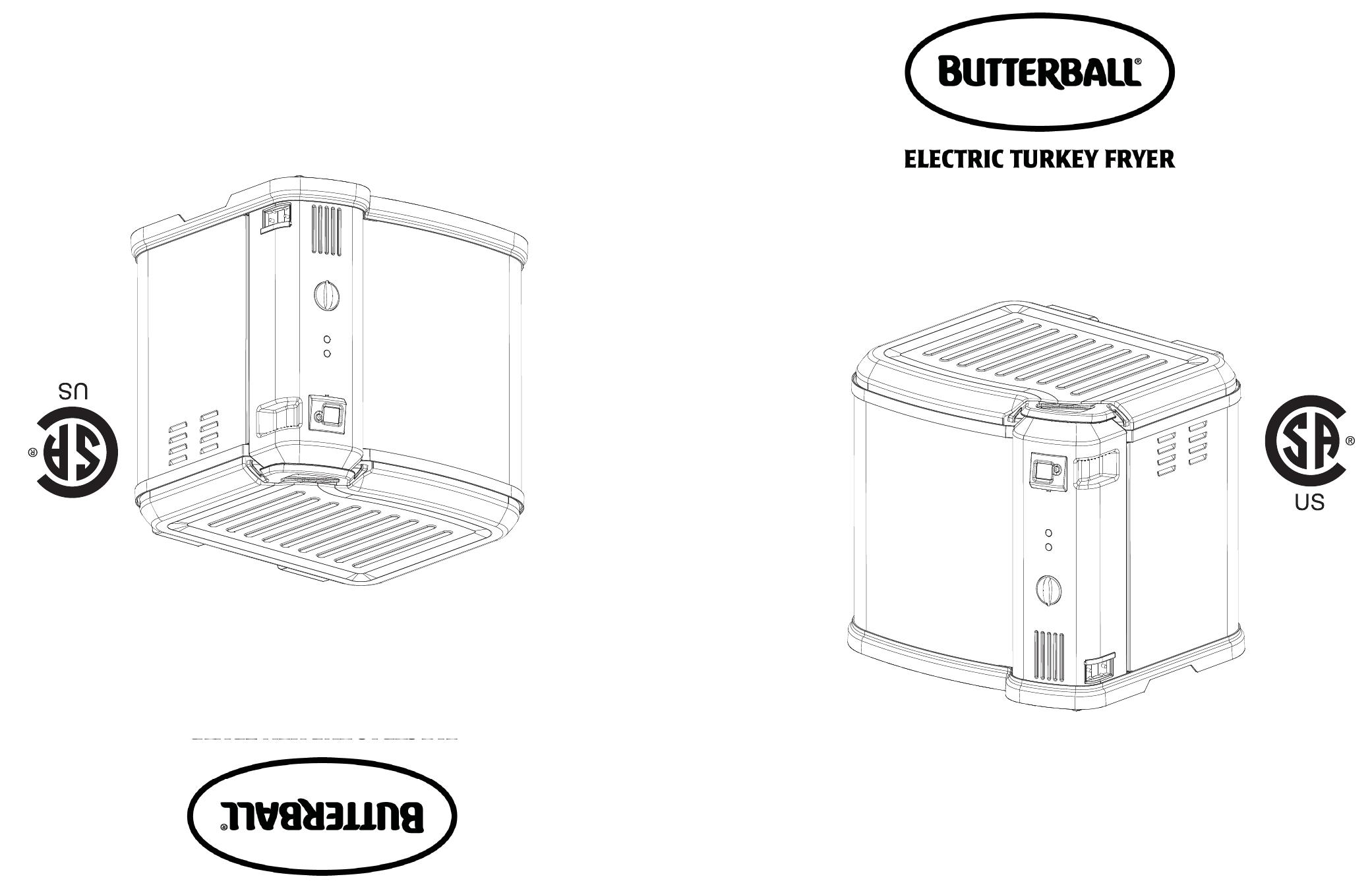 Masterbuilt Butterball XL Indoor Electric Turkey Fryer