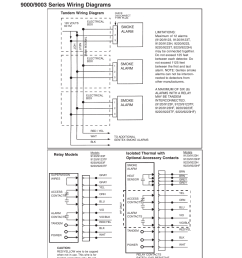 smoke alarm tandem wiring diagram relay models isolated thermal with optional accessory contacts  [ 954 x 1235 Pixel ]