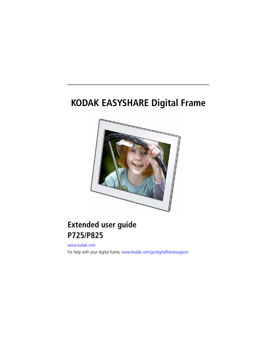 KODAK P725 MANUAL PDF