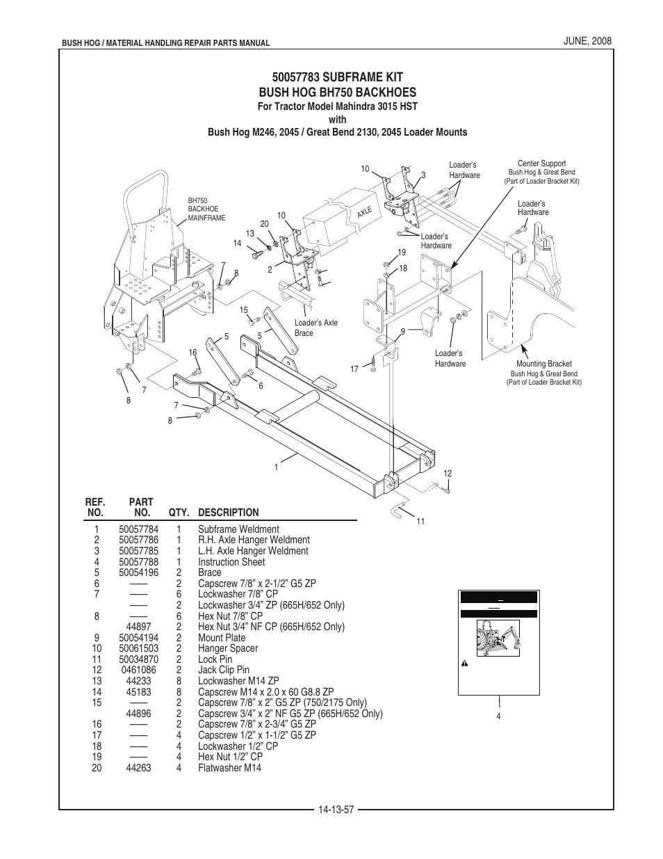 bush hog schematic