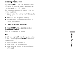resetting the microprocessor other functions pioneer avh x2500bt user manual page 73 96 [ 954 x 1352 Pixel ]