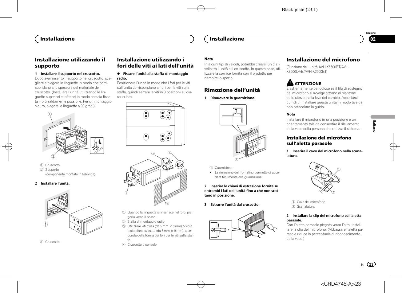 hight resolution of pioneer avh x5500bt user manual page 23 52