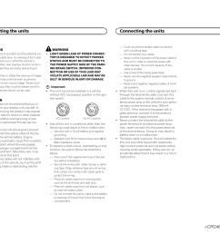 manual dvd rds av receiver connecting the units pioneer avhxdvd pioneer avh dvd wiring  [ 1307 x 954 Pixel ]