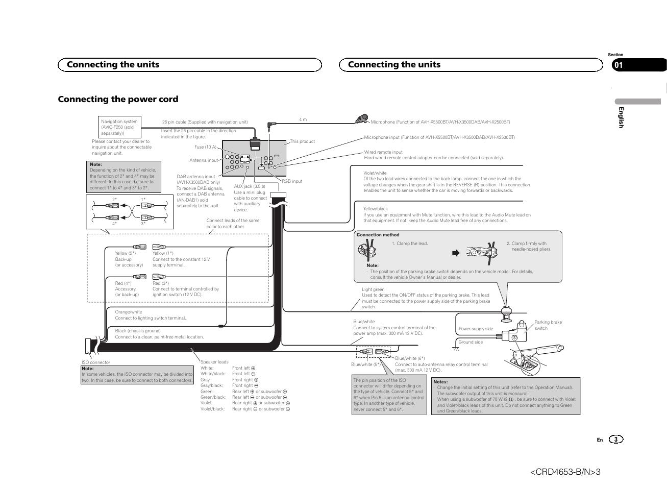 Pioneer Avh X1500 Wiring Diagram