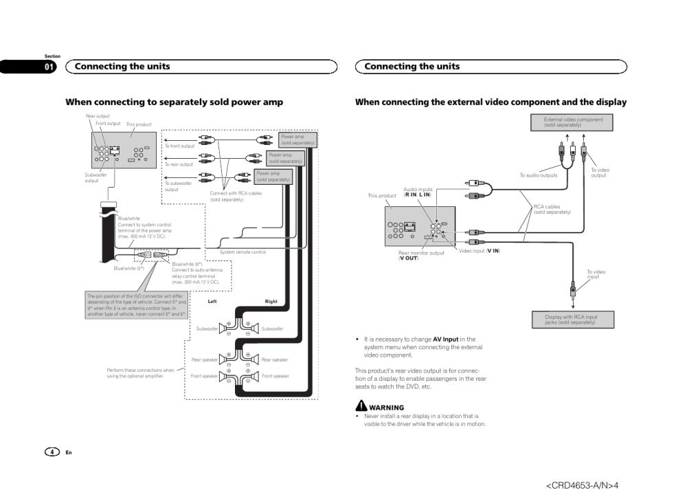 medium resolution of avh x1500 dvd wiring wiring diagram data val avh x1500 dvd wiring