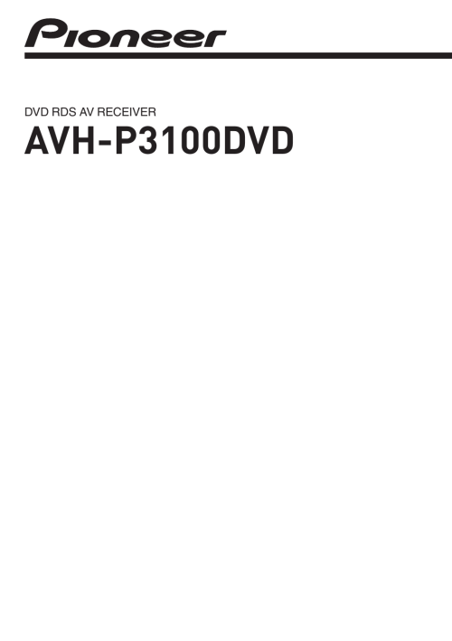 small resolution of  pioneer avh 3100dvd wiring diagram wiring diagram technic on pioneer avh p5700dvd wiring layout pioneer avh p3100dvd