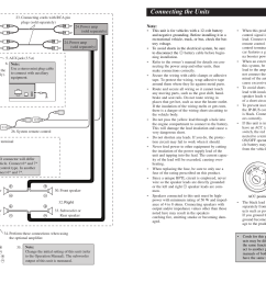 connecting the units u003cenglish connection diagram pioneer deh wiring diagram for pioneer deh p4800mp [ 2691 x 954 Pixel ]
