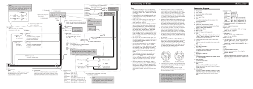 small resolution of connecting the units u003cenglish connection diagram pioneer deh wiring diagram for pioneer deh p4800mp
