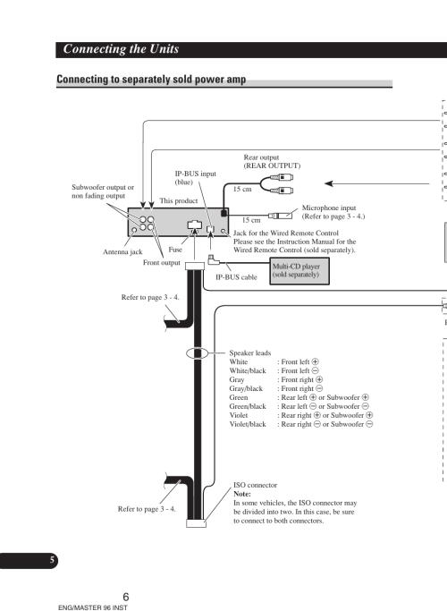small resolution of  pioneer deh p6900ub installation manual on alpine wiring diagram deh 6400bt wiring