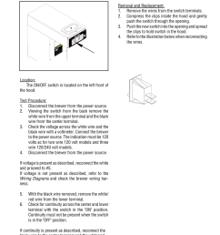 wiring diagrams page 17 service cont on off switch bunn cwt ts user manual page 17 24 [ 954 x 1235 Pixel ]