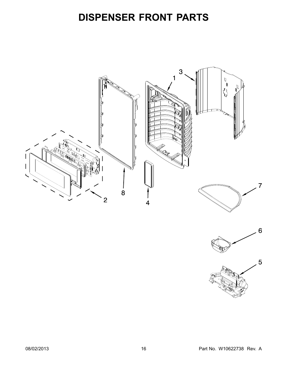 [MANUALS] Parts For Whirlpool Ghw9150pw2 Dispenser Parts