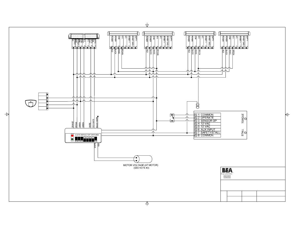 hight resolution of title eagle bodyguard bea stanley dip switch i user manual page 3 20
