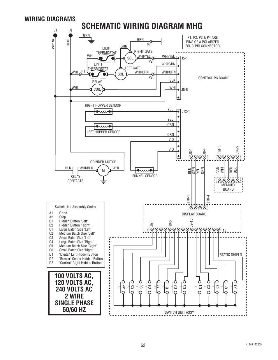 medium resolution of bunn mhg wiring diagram wiring diagramschematic wiring diagram mhg wiring diagrams bunn g9 2t dbc
