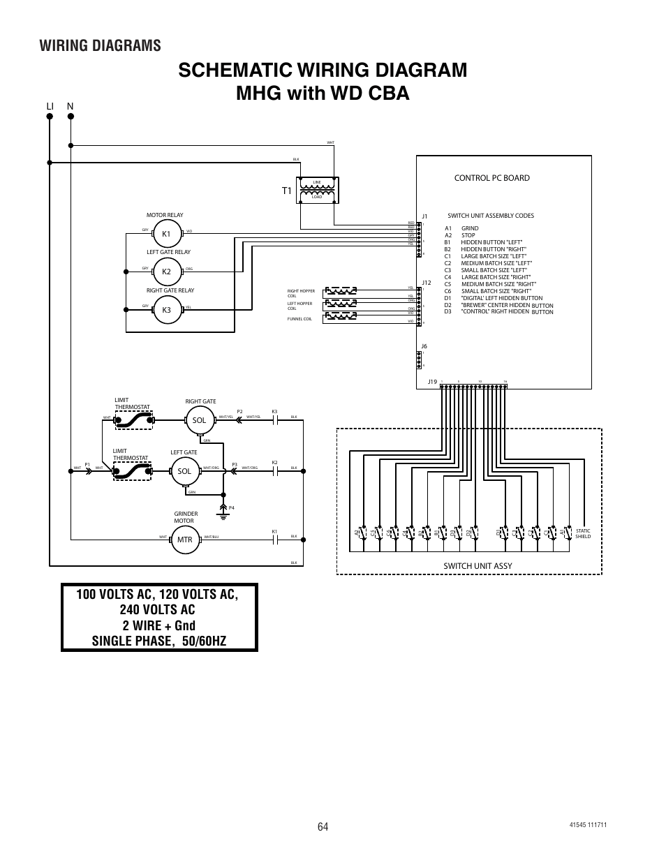hight resolution of schematic wiring diagram mhg with wd cba wiring diagrams li n bunn g9