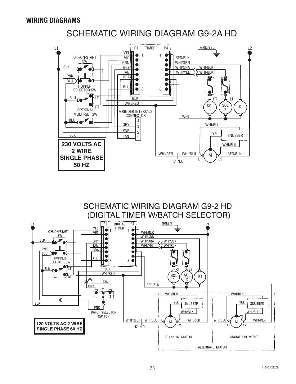 hight resolution of schematic wiring diagram g9 2a hd wiring diagrams bunn g9 2t dbc rh manualsdir com bunn coffee maker single bunn coffee pot parts list