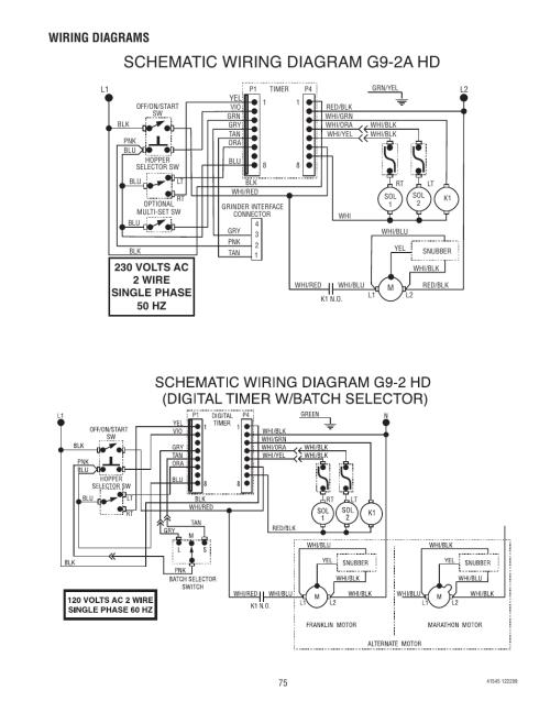 small resolution of schematic wiring diagram g9 2a hd wiring diagrams bunn g9 2t dbc rh manualsdir com bunn coffee maker single bunn coffee pot parts list