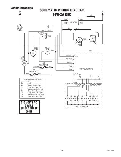 small resolution of schematic wiring diagram fpg 2a dbc wiring diagrams bunn g9 2t dbc user manual page 79 79