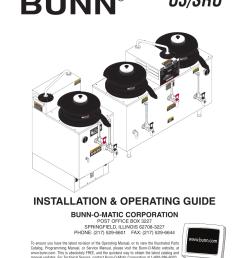 bunn u3 sru user manual 9 pagesbunn model bx wiring diagram 16 [ 954 x 1235 Pixel ]