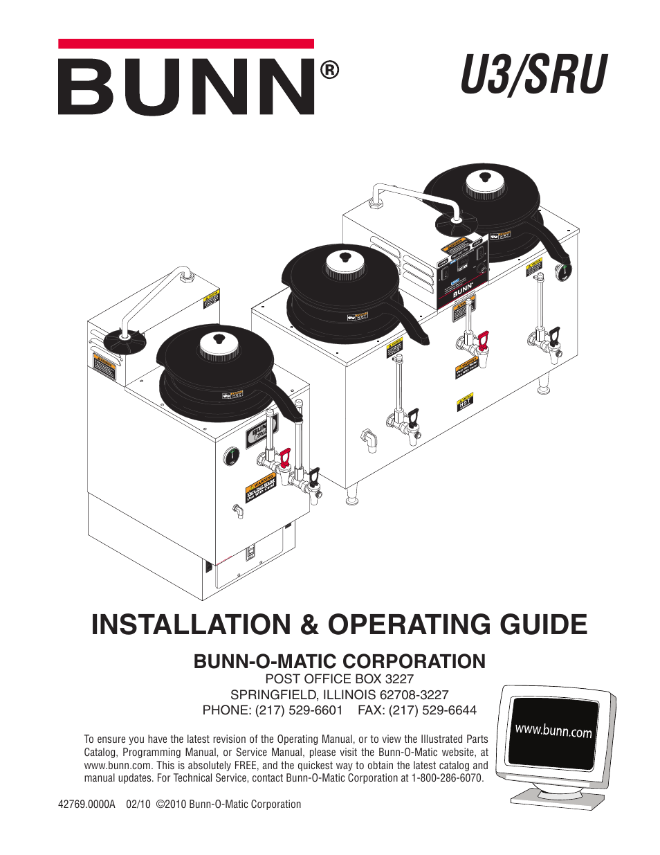 hight resolution of bunn u3 sru user manual 9 pagesbunn model bx wiring diagram 16