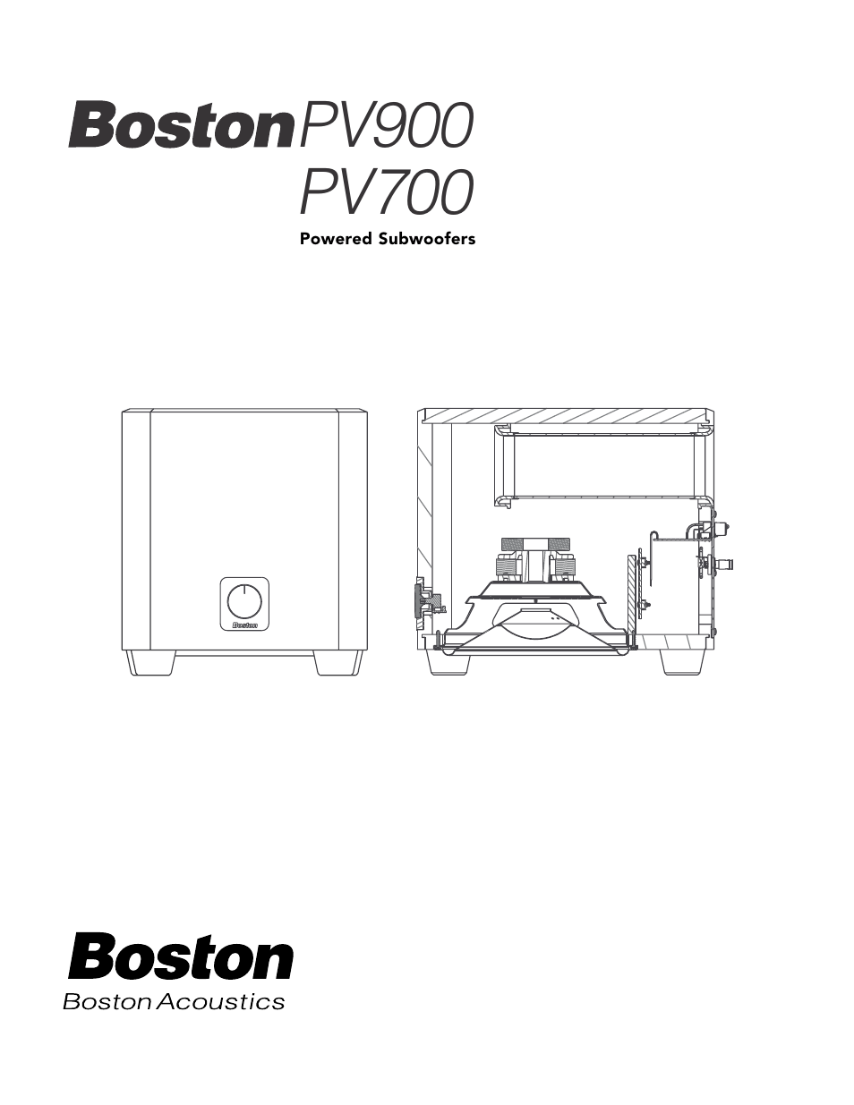 [WRG-7488] Boston Acoustics Subwoofer Wiring Diagram