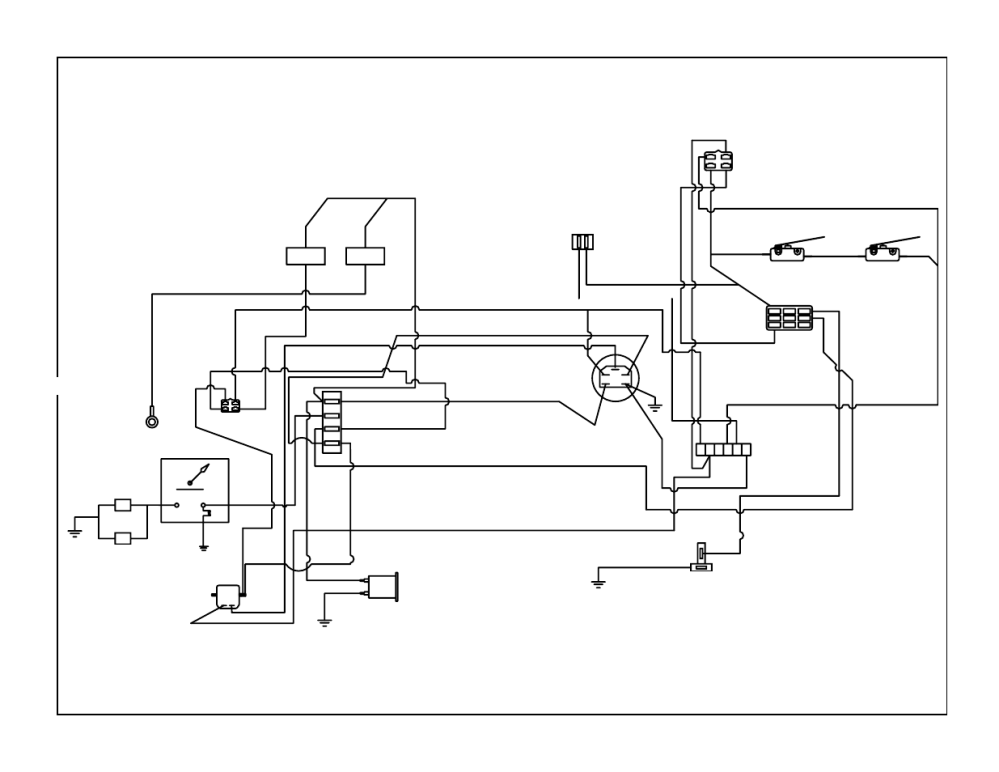 medium resolution of kohler wiring harness bush hog zero turn mowers user manual page 25 30