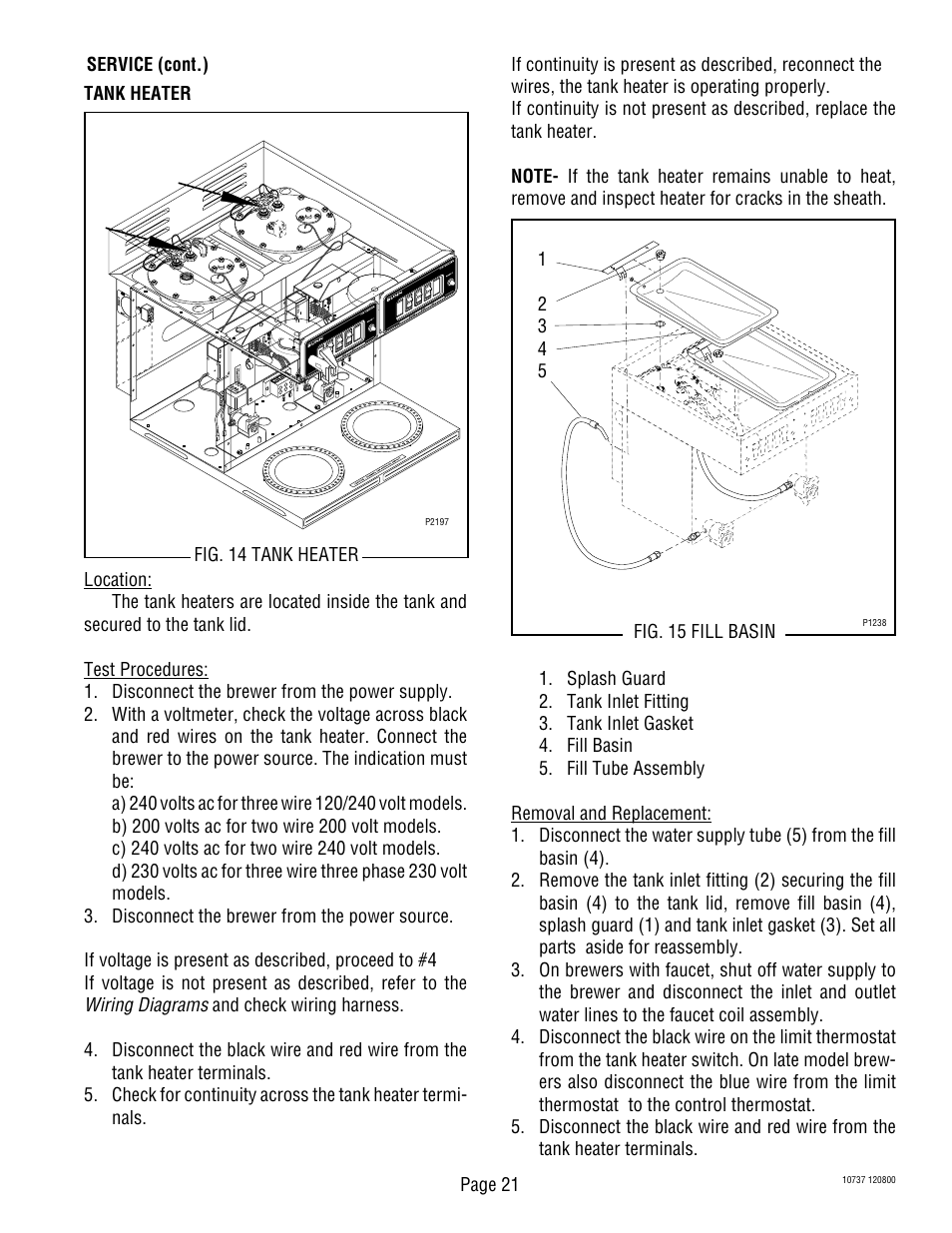 hight resolution of bunn cwtf twin aps user manual page 21 34 bunn cw series problems bunn cw series