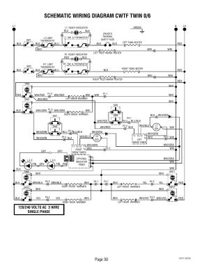 Schematic wiring diagram cwtf twin 06, Page 30 | Bunn