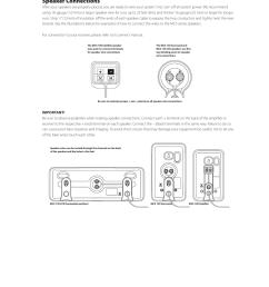 speaker connections boston acoustics mcs 130 surround user manual page 4 7 [ 954 x 1235 Pixel ]
