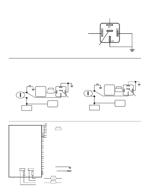 small resolution of control module optional part 775 required bulldog security rs1100 user manual page