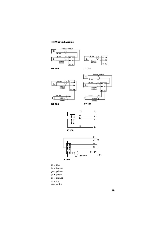 whirlpool wiring diagrams symbols | beyerdynamic dt 109 user manual page 18 / 28