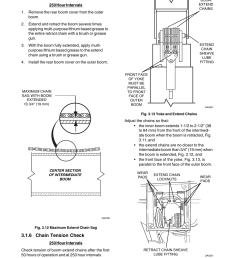 5 chain lubrication 6 chain tension check skytrak 6036 service manual user manual page 28 280 [ 954 x 1235 Pixel ]
