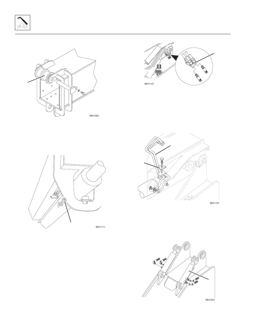 small resolution of 4 first boom section removal first boom section removal skytrak 8042 service manual user manual page 46 230