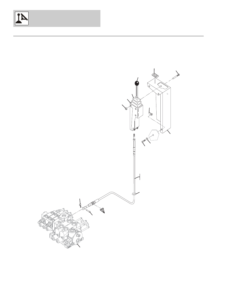 Figure 7-7 auxiliary hydraulic control, Auxiliary
