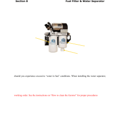 filter service recommendations pureflow airdog df 165 4g gm duramax 2015 user manual page 18 23 [ 954 x 1235 Pixel ]