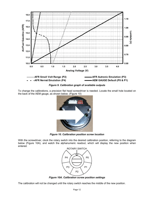 small resolution of  o2 aem uego wideband wiring diagram aem 30 4110 digital wideband uego gauge user manual page 12 14 on
