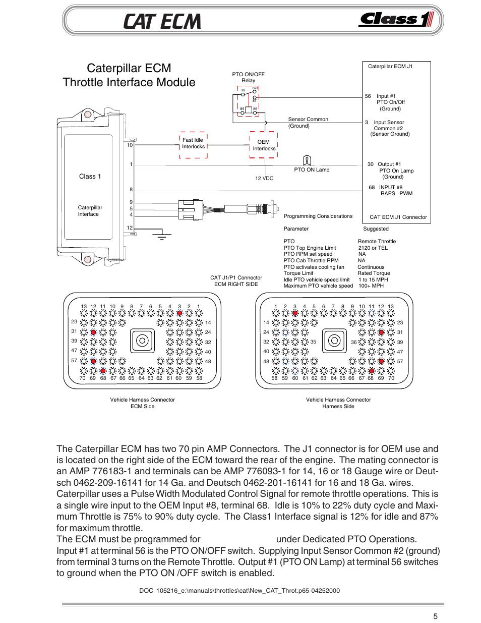 medium resolution of cat ecm caterpillar ecm throttle interface module remote throttle class1 throttle interface cat