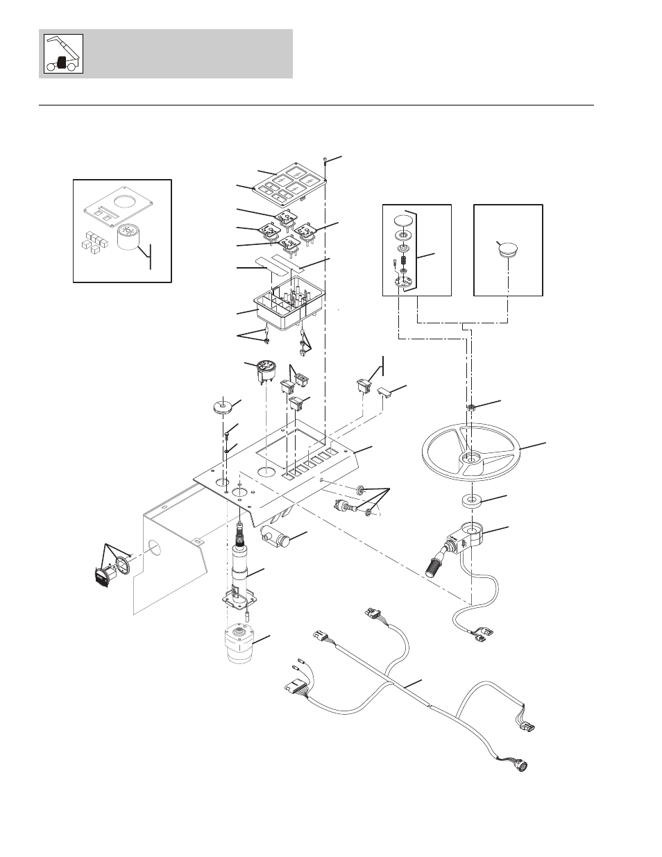 Figure 6-8 instrument panel assembly, Instrument panel