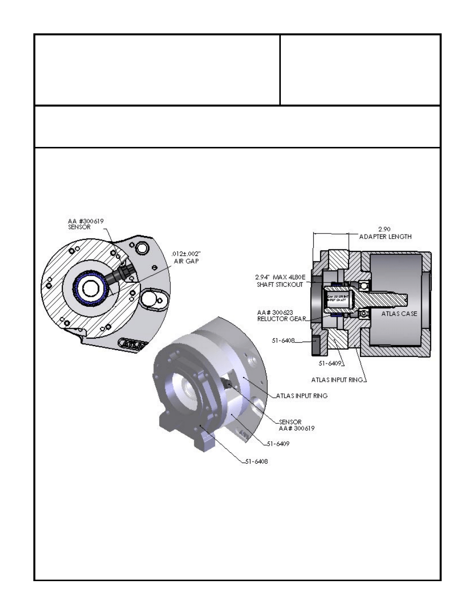 medium resolution of gm 4l80e automatic to atlas 2 speed transfer case advance adapters 50 6409 user manual page 2 2