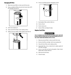 changing oil filter replace fuel filter changing oil filter 62 replace fuel filter 62 jlg 660sj service manual user manual page 106 328 [ 954 x 1235 Pixel ]
