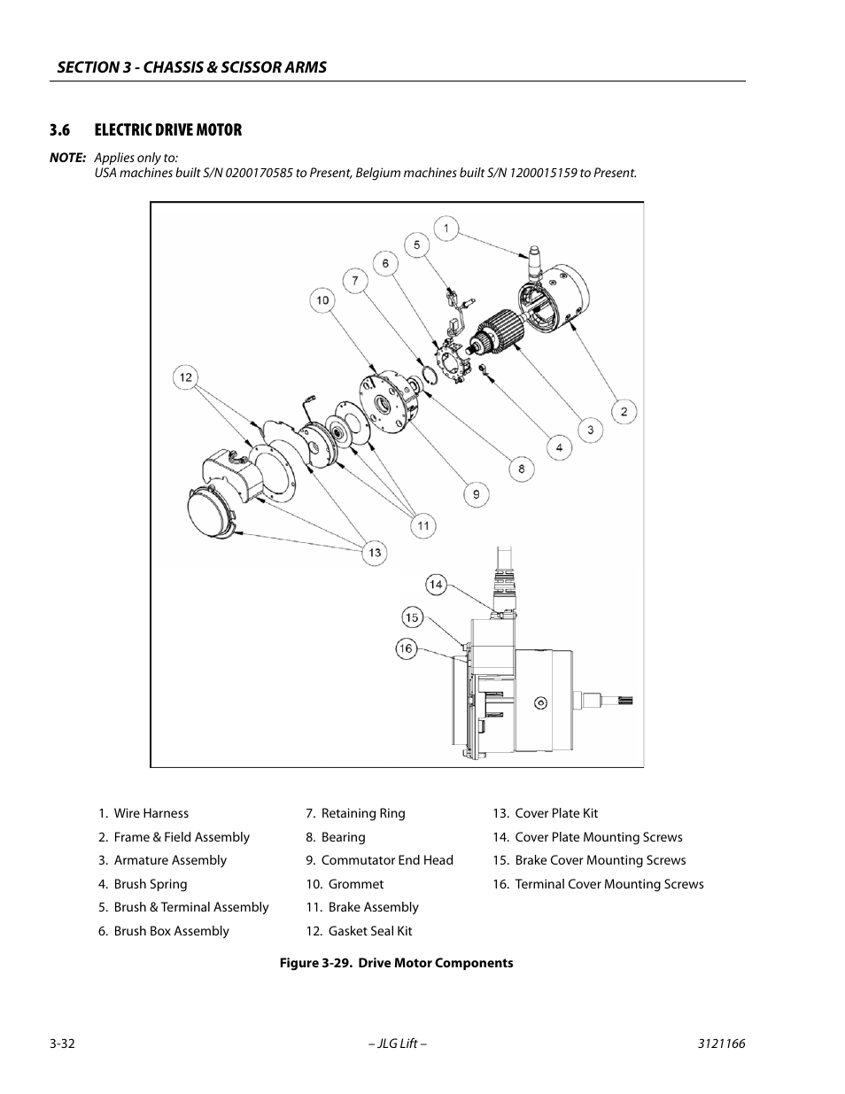 Jlg 3246e Wiring Diagram 3246 Joystick Hight Resolution Of 6 Electric Drive Motor 32 Components