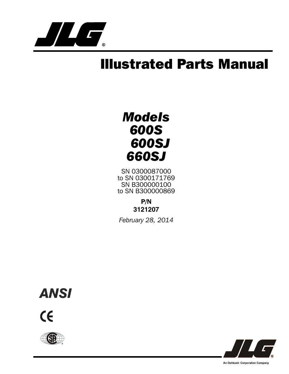 110 Schematic Wiring Diagram Jlg 660sj Parts Manual User Manual 404 Pages Also For