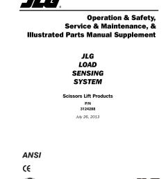 jlg lss scissors user manual 78 pages jlg electric scissor lift jlg scissor lift wiring diagram [ 954 x 1235 Pixel ]