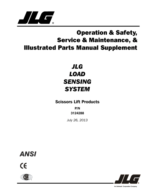 small resolution of jlg lss scissors user manual 78 pages jlg electric scissor lift jlg scissor lift wiring diagram