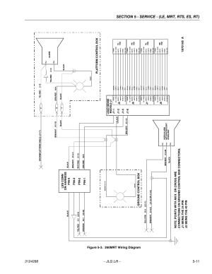 260mrt wiring diagram 11   JLG LSS Scissors User Manual