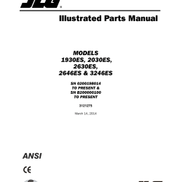 jlg 3246es parts manual user manual 186 pages also for 2646es parts manual 2046es parts manual 2030es parts manual 1930es parts manual [ 954 x 1235 Pixel ]