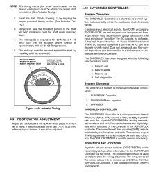 9 foot switch adjustment 10 superflex controller system overview jlg 600sc 660sjc service manual user manual page 60 186 [ 954 x 1235 Pixel ]