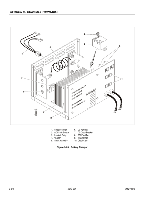 small resolution of battery charger 95 jlg t350 service manual user manual page 130battery charger 95 jlg t350 service
