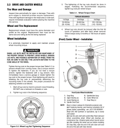 3 drive and caster wheels tire wear and damage wheel and tire replacement  [ 954 x 1235 Pixel ]