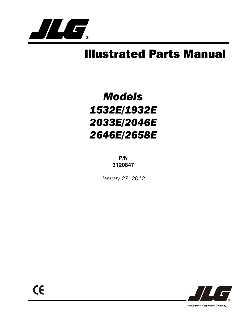 hight resolution of jlg 2658e parts manual user manual 244 pages also for 2646e parts manual